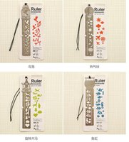 Wholesale Cute Kawaii Creative Horse Birdcage Hollow Metal Bookmark Ruler For Kids Student Gift School Supplies