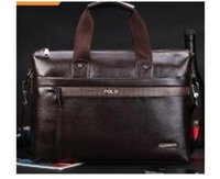 Wholesale New men s fashion business man bag shoulder bag Messenger bag casual man bag computer bag