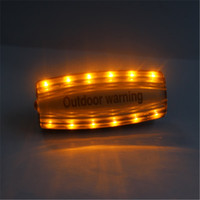 Wholesale led shoulder warning light outdoor emergency light for cycling
