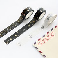 accounting white paper - can be torn and paper tape South Korean stickers black and white color diary photo album hand account decorative tape