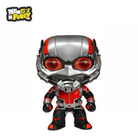 ants movies - 2016 High Quality CM Q Version Funko POP Ant Man Marvel Movies Collection Dolls ACGN Heroes Red Jacket Retail