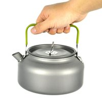 Wholesale 2 person L Multifunctional Outdoor Cookware Set Camping Cooking Pot Teapot kettle Use for Home Cooking