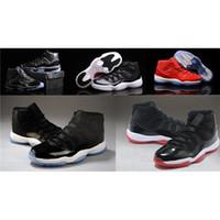 Wholesale Air Retro s XI Men s Infrared Space Jam Pantone True Red PE Concord LEGEND BLUE Basketball Sneakers Retros