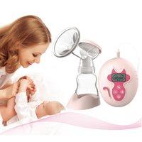 Wholesale 2016 Hot BPA Free Breast Pump Powerful Nipple Suction Electric Breast Pumps Mom Love Breast Feeding Borstvoeding Pomp