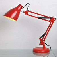 Wholesale American Modern Desk Table Lamp Folding Arms Desk Light Clip Decorative Design Table Light For Reading Room