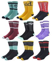 american towels - American Brand Diamond Socks Towel Cotton Skateboard Mens Sock Basketball Sports Sox Compression w