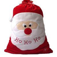big ho - ASLT Christmas Day Decoration Santa Large Sack Stocking Big Gift bags HO HO Christmas Santa Claus Xmas Gifts