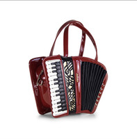 Cheap New 2016 European and American fashion trends Accordion instrument package of carve patterns or designs on woodwork Delicate and sell lots o