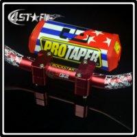 atv handlebar clamps - 1 quot Fat Bar MM Handlebars Grip Bar Clamps Bar Pad Motorcycle Motocross Pit Dirt Bike Husaberg KTM CRF YZF KLX RMZ ATV Quad
