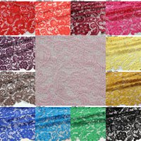 Wholesale Charming Lace Tops High Quality Color Water Soluble D African Lace Venice Lace Fabrics Wedding Dress Fabrics HY1178