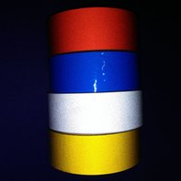 Wholesale 5cm m Reflective Sheeting Tape Sticker Car Styling Body Warning Truck Auto Parts Automotive Decal Reflection Color Decoration