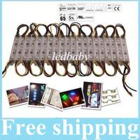 3 LED SMD 5050 RGB LED módulos LED Pixel Módulos impermeables Backlights 12V para Channer Carta WW WW PW R G B Y