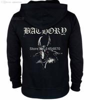 bathory shirt - Bathory Band Cotton Hot Sell Rock hoodies autumn winter jacket high quality brand shirt punk death dark metal