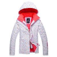 Wholesale Drop Shipping Brand New Waterproof Outdoor wind proof ski jacket women Winter Sports Ski Snowboard jacket woman