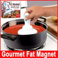 Wholesale Handy Gourmet Fat Magnet Slimming Aid Fat Removal Helper Lower Calories Make Meals Healthier High Quality
