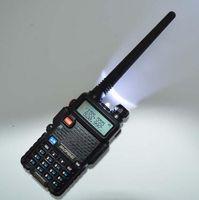Wholesale x6 Hot Portable Radio Baofeng UV R two way radio Walkie Talkie pofung W vhf uhf dual band MHZ baofeng uv R