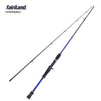 Wholesale Fairiland m M power carbon baitcasting rod SEC fishing rod lure fishing pole bait casting fishing tackle