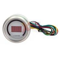 Wholesale Xpower White Auto Car quot mm Tacho Tachometer Red Digital Color LED RPM Gauge Meter
