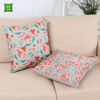 Wholesale Casual Design Digital Printed Cushion Cover Christmas Style Cushion Cover Home Decor Pillow