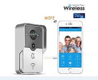 bell home phone support - WIFI Door Bell Phone Wireless Doorphone Viewer Intercom support IOS Andorid APPS Control Smart Home