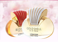 Wholesale No Nice Design Hot Sale Gold Shell Red Shell Women Fragrance Perfume Woman Spray