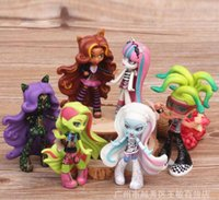 abbey bominable - High School Dolls set cm Clawdeen Wolf Abbey Bominable Venus Mcflytrap Rochelle Goyle Action Figure Doll Toy For Girls