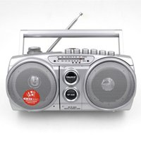 Wholesale Frequency Modulation Radio FM tape recorders Tapes cassette player recorder tape player internal mike recording support