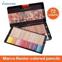 artist renoir - Marco Wooden Colored Pencils Renoir Professional Artist Drawing Set Sketching