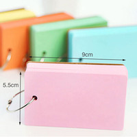Wholesale Color Pages Mini Memo Pad Notebook Portable Notepad School Office Supplies Papelaria