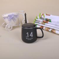 Wholesale 320ml Mug Kitchen Drinkware Coffee Mugs Coffee Cup For Milk Simple Design Good Quality Fashion Tea Container M002B