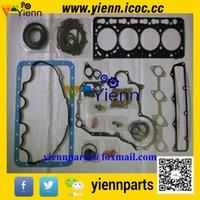 Wholesale Kubota V3300DI V3300T V3300 engine overhual gasket kit upper lower set and head gasket For bobcat S250 Thomas skid loader