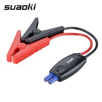 auto catalytic converters - Suaoki Intelligent EC5 Auto Engine Booster Storage Battery Clamps Clips Cable for Car Emergency Jump Starter for V Vehicle