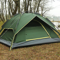 automatic folding doors - Waterproof Double Layer Fully Automatic Quick opening Tent Person Automatic Camping Hiking Folding Outdoor
