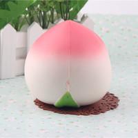 Wholesale cm peach squishy Jumbo buns slow rising bun pink order kitchen toy set aoyama tokyo squishy