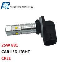 Wholesale 2 x Automotive Lighting W Super Bright Car COB LED Fog Light surface emitting Bulbs Car Light