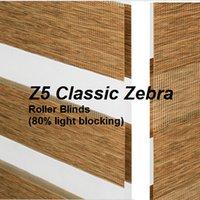 Wholesale 80 blackout Zebra Roller Blinds Z5 custom made sizes in colors