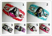 Wholesale 24pcs CHICA VAMPIRO Bracelet for Girls wonmen Glass bracelet Handcuffs bracelet Cartoon Movie Despicable Me Charms bracelet