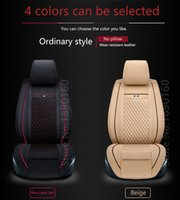 accent car accessories - Special Leather car seat covers For Hyundai All Models solaris ix35 Elantra MISTRA GrandSantafe accent accessories styling