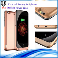 Wholesale 10000 mAh external battery Charge case cover for iPhone6 s quot Cell Phone Chargers External Battery Case