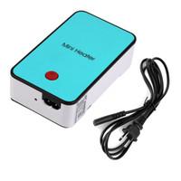 Wholesale Handheld Mini Heater Desktop USB Heater Electric Heater Portable Office blue Brand New
