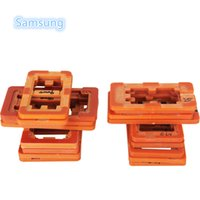 bakelite mould - 10PCS Fixture Clamps Holder LCD Outer Glass Bakelite Mould Screen Refurbishing Moulds for Samsung Mobile phones Model Mold
