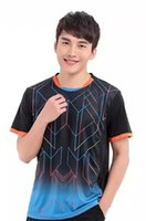 badminton coat - New arrival badminton clothes for men and women lovers coat quick drying T shirt