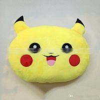 Wholesale New cm Poke plush Pillow pikachu Pillow Cushion cartoon inches Pikachu Stuffed Animals Pillows dolls EMS Shipping E1255