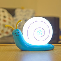 best halloween events - Cartoon Snail Night Light USB Rechargeable LED Night Lamp Bedside Lamp Party Event Best Gift For Kids