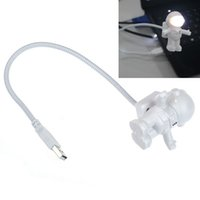 No astronaut figure - Portable Astronaut Shaped USB LED Night Light Cute Astronaut PC Lamp LED Night Light Besides Emergency Light