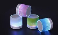 Wholesale Factory Price Portable Mini A9 Bluetooth Speaker with led light Portable audio