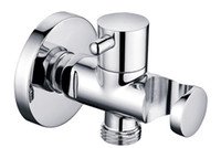 Wholesale Faucet Accessory brass Angle Valve with Bracket with Holder AG266