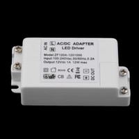 Wholesale New V A W AC DC Transformer Driver For MR16 MR11 GU5 LED Bulbs Strips
