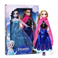 Wholesale Frozen Dolls Frozen Elsa And Frozen Anna Girl Gifts Frozen Toys Doll Joint Moveable cm Frozen Princess