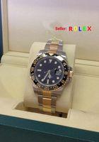 bi box - hot sell Luxury Original box Top qualityGMT M ster II Bi Colour LN Ceramic Bezel Black Dial Watch quot M quot Serial Automatic Mens Men s